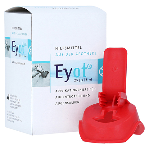 EYOT Tropfhilfe f.Augentropfen/-salben 1 Stück
