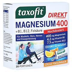 Taxofit Magnesium 400 20 Stück