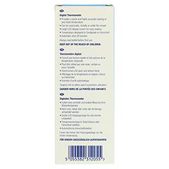 ALVITA digitales Fieberthermometer 1 Stück - Rückseite