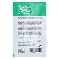 DERMASEL Maske Enzym Peeling SPA 12 Milliliter - Rückseite