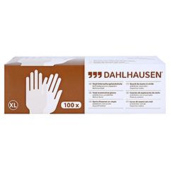 VINYL Handschuhe ungepudert Gr.XL 100 Stück - Unterseite