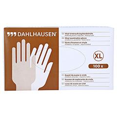 VINYL Handschuhe ungepudert Gr.XL 100 Stück - Vorderseite
