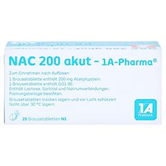 NAC 200 akut-1A Pharma 20 Stück N1 - Oberseite