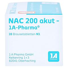 NAC 200 akut-1A Pharma 20 Stück N1 - Rechte Seite