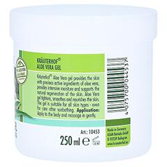 Aloe Vera GEL 96% Kräuterhof 250 Milliliter - Linke Seite