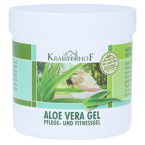 Aloe Vera GEL 96% Kräuterhof 250 Milliliter