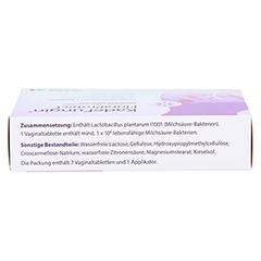 KADEFUNGIN FloraProtect Vaginaltabletten 7 Stück - Oberseite
