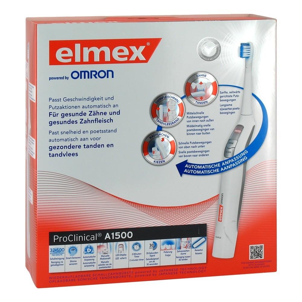 Erfahrungen zu ELMEX ProClinical A1500 elektrische Zahnbürste 1 ...