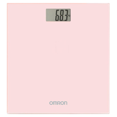 OMRON HN-289 digitale Personenwaage pink 1 Stück
