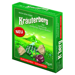 KRÄUTERBERG Bonbons 75 Gramm