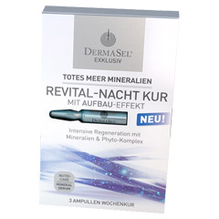 DERMASEL Ampullen-Kur Revital-Nacht EXKLUSIV 3x1 Milliliter