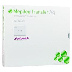 MEPILEX Transfer Ag Schaumverband 10x12,5 cm ster. 5 Stück