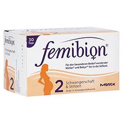 FEMIBION Schwangerschaft 2 D3+DHA+400 µg Folat 2x30 Stück
