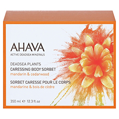 Ahava Caressing Body Sorbet 235 Gramm - Vorderseite