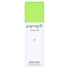 GEGENGIFT Reinheit Detox regener.Reinigungsmilch 100 Milliliter - Vorderseite