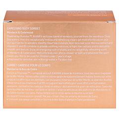 Ahava Caressing Body Sorbet 235 Gramm - Rückseite