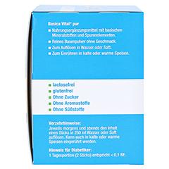 BASICA Vital pur Basenpulver 50 Stück - Rechte Seite