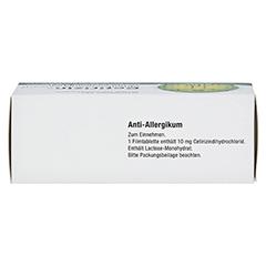 Cetirizindihydrochlorid axicorp 10mg 50 Stück N2 - Oberseite
