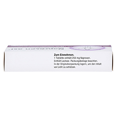 NAPROXEN axi 250 mg Tabletten 20 Stück - Oberseite