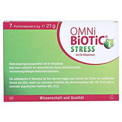 OMNi BiOTiC Stress Beutel 7x3 Gramm - Vorderseite