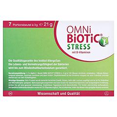 OMNi BiOTiC Stress Beutel 7x3 Gramm - Rückseite