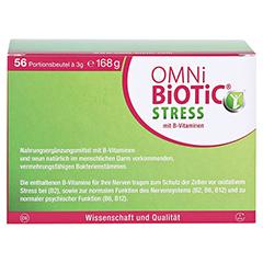 OMNi BiOTiC Stress Beutel 56x3 Gramm - Rückseite