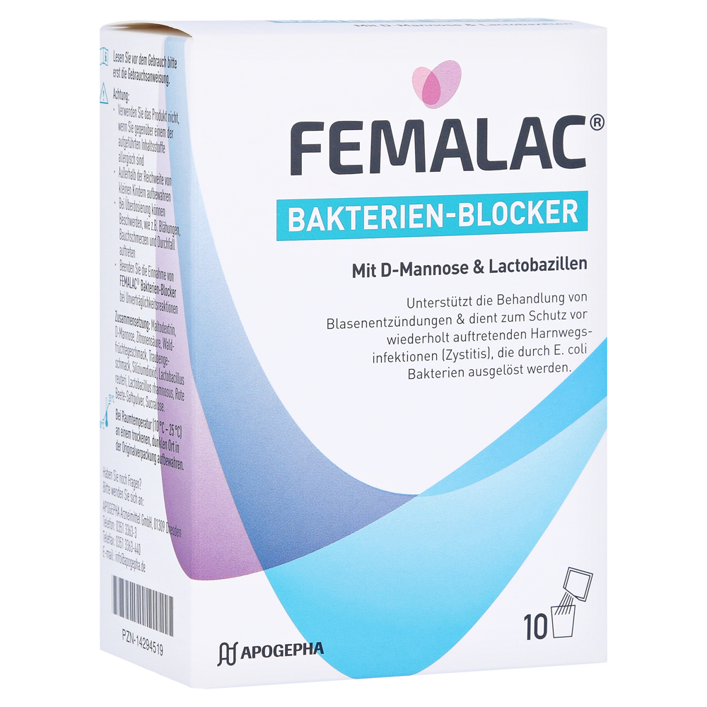 Femalac Bakterien Blocker Erfahrungen
