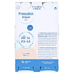 FRESUBIN ORIGINAL DRINK Nuss Trinkflasche 6x4x200 Milliliter - Vorderseite