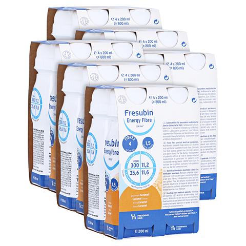 FRESUBIN ENERGY Fibre DRINK Karamell Trinkflasche 6x4x200 Milliliter