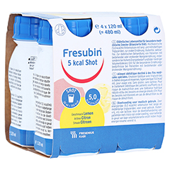 FRESUBIN 5 kcal SHOT Lemon Lösung 4x120 Milliliter