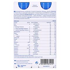 Fresubin Energy Drink Schokolade Trinkflaschen 4x200 Milliliter - Rückseite