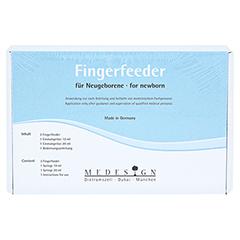 FINGERFEEDER für Frühgeborene 3 Stück - Vorderseite