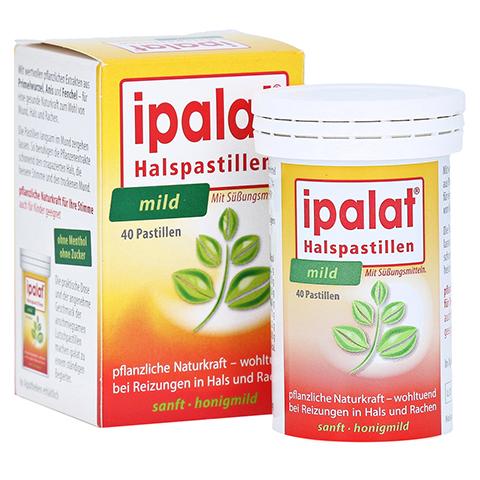 IPALAT Halspastillen mild 40 Stück