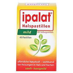 IPALAT Halspastillen mild 40 Stück - Vorderseite