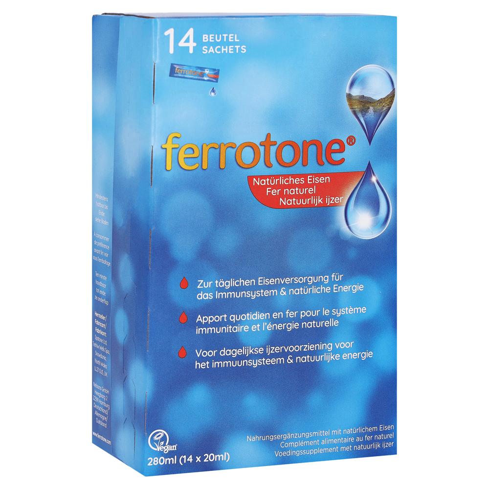 Sehr Erfahrungen zu Ferrotone Eisen Beutel 14x20 Milliliter - medpex LP94