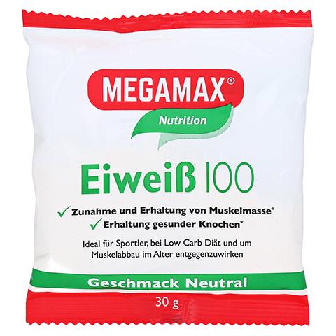 Eiweiss 100 Neutral Megamax Pulver 30 Gramm
