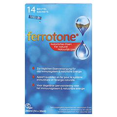 Ferrotone Eisen Beutel 14x20 Milliliter - Vorderseite