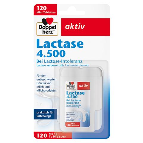 DOPPELHERZ Lactase 4.500 Tabletten 120 Stück