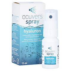 OCUVERS spray hyaluron 15 Milliliter