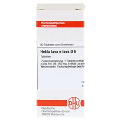HEKLA lava e lava D 6 Tabletten 80 Stück N1 - Vorderseite
