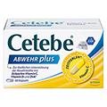 CETEBE ABWEHR plus Vitamin C+Vitamin D3+Zink Kaps. 60 Stück
