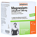 MAGNESIUM RATIOPHARM 300 mg Micro Pell.m.Gran. 40 Stück