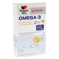 DOPPELHERZ Omega 3 Junior Gel Tabs system Kautabl. 60 Stück
