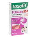TAXOFIT Folsäure+Metafolin 800 Depot Tabletten 40 Stück