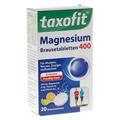 TAXOFIT Magnesium 400+B6+B12 Brausetabletten 20 Stück
