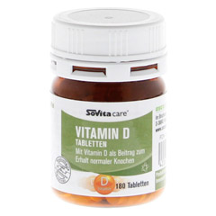 SOVITA care Vitamin D Tabletten 180 Stück