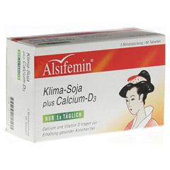 ALSIFEMIN Klima-Soja plus Calcium D3 Tabletten 60 Stück