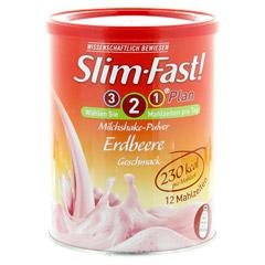 Slim-Fast Drink Pulver Erdbeere 438 Gramm