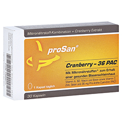PROSAN Cranberry 36 PAC Kapseln 30 Stück