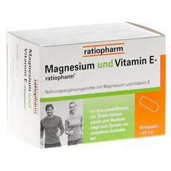 MAGNESIUM UND VITAMIN E-ratiopharm Kapseln 60 Stück